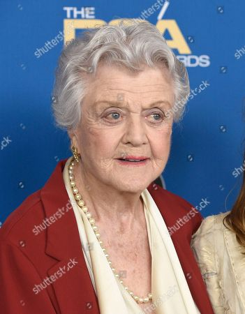 Angela Lansbury arrives at the 70th annual Directors Guild of America Awards at The Beverly Hilton hotel, in Beverly Hills, Calif