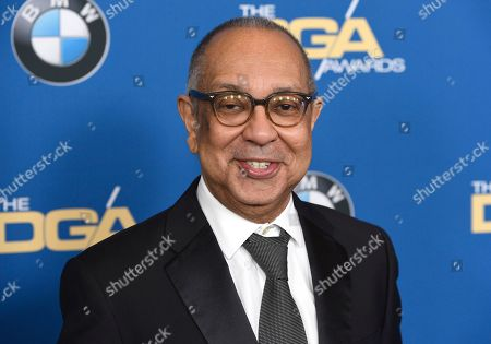 George C. Wolfe arrives at the 70th annual Directors Guild of America Awards at The Beverly Hilton hotel, in Beverly Hills, Calif