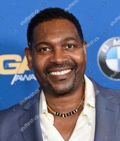 Mykelti Williamson arrives at the 70th annual Directors Guild of America Awards at The Beverly Hilton hotel, in Beverly Hills, Calif