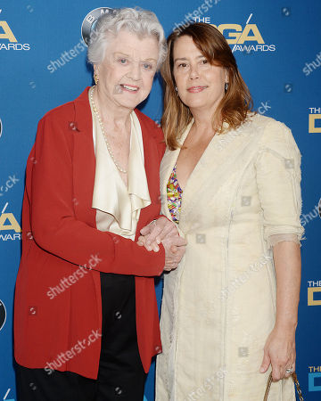 Angela Lansbury and guest