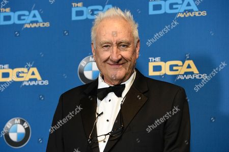 Don Mischer poses in the press room