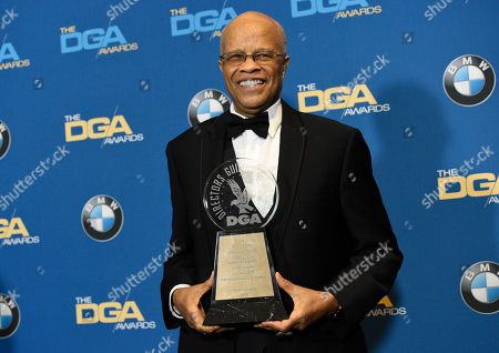 Editorial picture of 70th Annual DGA Awards - Press Room, Beverly Hills, USA - 03 Feb 2018