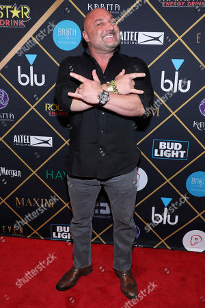 Jay Glazer arrives at the Maxim Super Bowl Party at the Maxim Dome, in Minneapolis