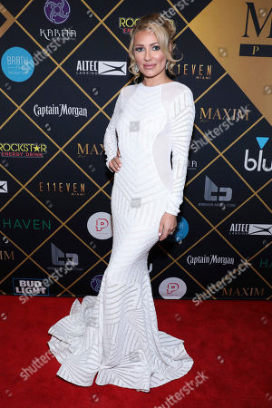 Editorial picture of 2018 Maxim Super Bowl Party - Arrivals, Minneapolis, USA - 03 Feb 2018