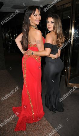 Lizzie Cundy and Abigail Clarke