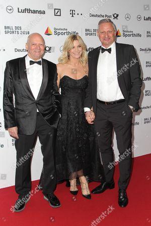 Joachim Hunold, Stefan Bloecher mit partner Anna Posch