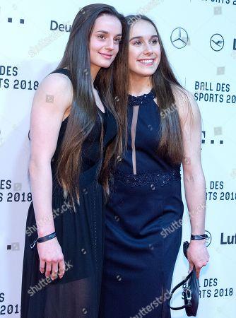 Turnerinnen Pauline Schaefer and Tabea Alt