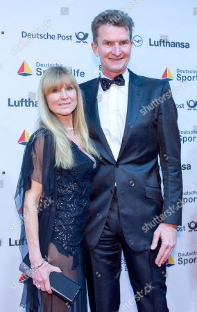 Stock Picture of Ilona and Michael Gross