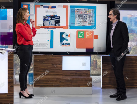 Allegra Stratton, Robert Peston