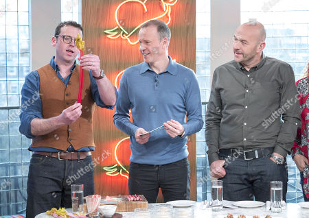 Editorial photo of 'Sunday Brunch' TV show, London, UK - 04 Feb 2018