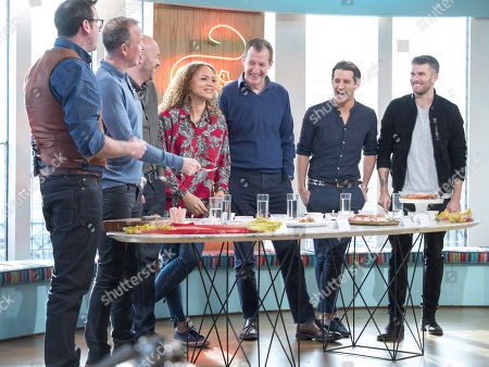 Editorial image of 'Sunday Brunch' TV show, London, UK - 04 Feb 2018