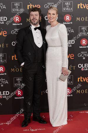 Anne Igartiburu and her husband Pablo Heras-Casado