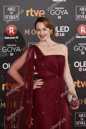Editorial image of 32nd Goya Cinema Awards, Madrid, Spain - 03 Feb 2018