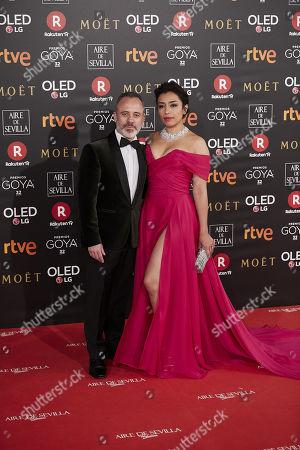 Javier Gutierrez and Adriana Paz