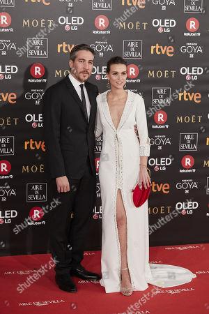 Alberto Ammann and Clara Mendez-Leite