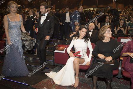 Editorial picture of 32nd Goya Cinematographic Awards Gala, Auditorium Hotel, Madrid, Spain - 03 Feb 2018