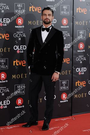 Editorial image of 32nd Goya Cinematographic Awards, Marriott Auditorium Hotel, Madrid, Spain - 03 Feb 2018