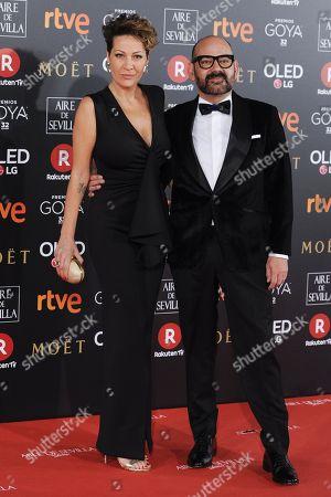 Editorial picture of 32nd Goya Cinematographic Awards, Marriott Auditorium Hotel, Madrid, Spain - 03 Feb 2018