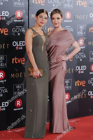 Thais Blume and Maria Esteve