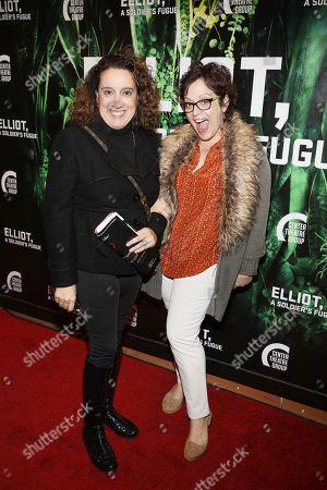 Eileen Galindo and Marlene Forte