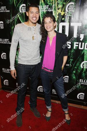 Elliot Ruiz and Quiara Alegria Hudes
