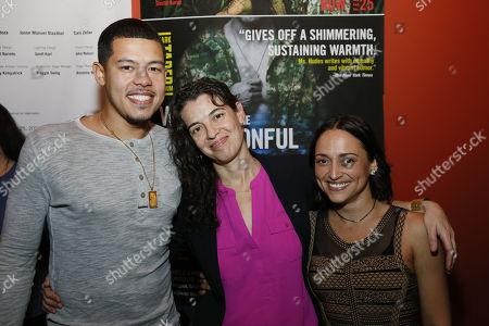 Elliot Ruiz, Quiara Alegria Hudes and Caro Zeller
