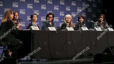Madelyn Hammond, Lucy Sibbick, Ru Kuwahata, Tatiana Riegel, Darla Anderson, April Napier and Elaine McMillion Sheldon,