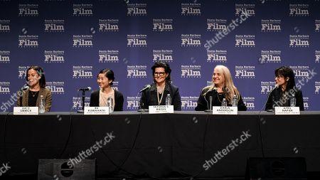 Lucy Sibbick, Ru Kuwahata, Tatiana Riegel, Darla Anderson and April Napier