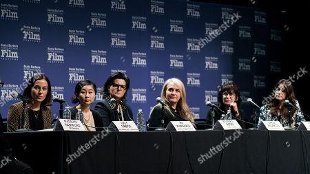 Lucy Sibbick, Ru Kuwahata, Tatiana Riegel, Darla Anderson, April Napier and Elaine McMillion Sheldon