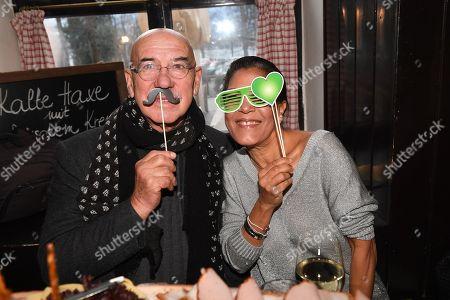 Otto Retzer mit Ehefrau Shirley,