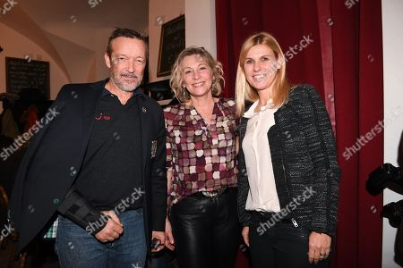 Stock Picture of Michael Roll, Claudia Jung, Anke Huber,