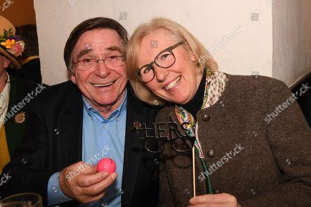 Elmar Wepper mit Ehefrau Anita,