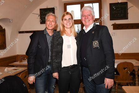 Norbert Schramm, Anke Huber and Thomas Stein,
