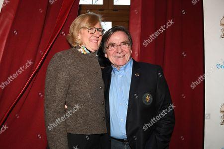 Stock Picture of Elmar Wepper mit Ehefrau Anita,