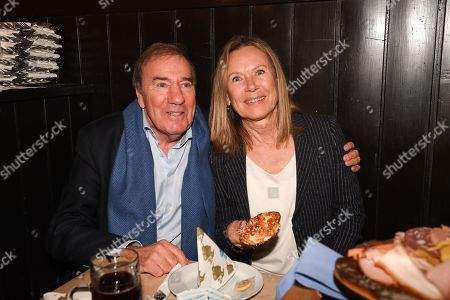 Stock Photo of Frank Fleschenberg and Sybille Beckenbauer,