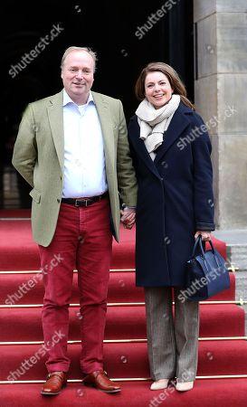 Prince Carlos of Bourbon-Parma and Princess Annemarie