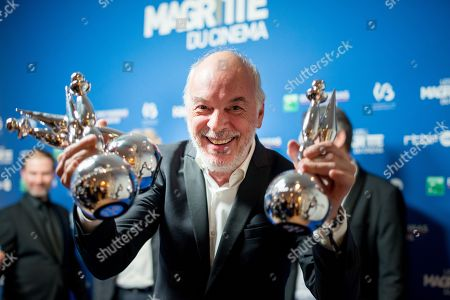Editorial image of 8th Les Magrittes du Cinema, Brussels, Belgium - 03 Feb 2018