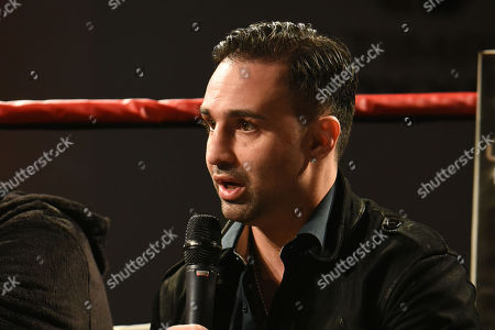 Stock Picture of Paulie Malignaggi during the Ultimate Boxxer Launch at the ME London Hotel on 5th February 2018