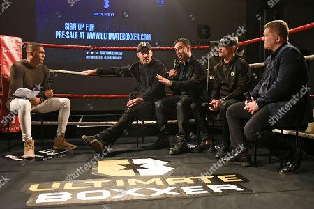 Editorial image of Ultimate Boxxer Launch, Boxing, ME London Hotel, Strand, London, United Kingdom - 05 Feb 2018