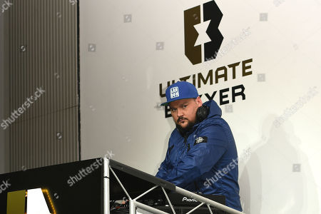 DJ Charlie Sloth on the decks during the Ultimate Boxxer Launch at the ME London Hotel on 5th February 2018