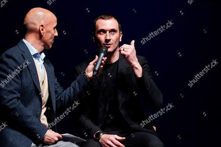 Stock Image of Ivan Basso and Juan Mari Guajardo