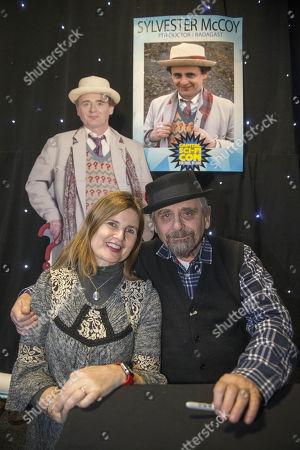 Sophie Aldred and Sylvester McCoy