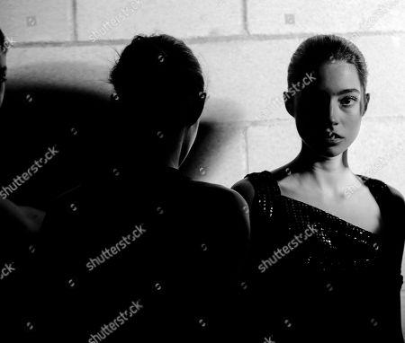 Marina Perez backstage