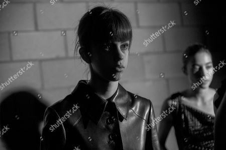 Mayka Merino backstage