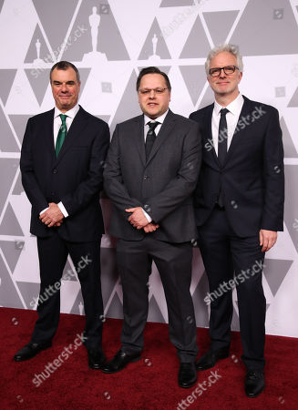 Editorial photo of The Academy Awards Nominees Luncheon, Arrivals, Los Angeles, USA - 05 Feb 2018