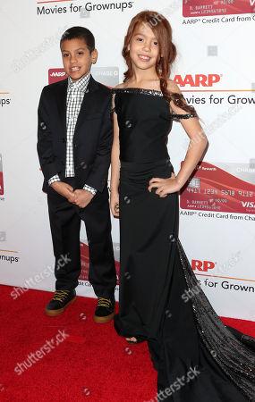 Christopher Rivera and Valeria Cotto