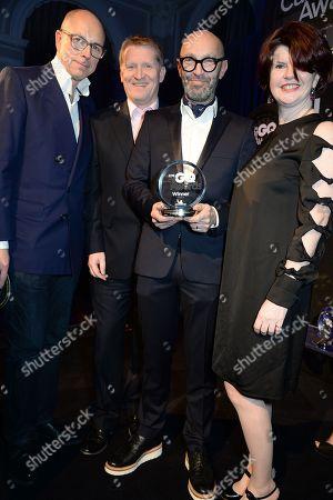 Stock Photo of Dylan Jones, Paul Stroud, Adam Kay and Helen Barbour