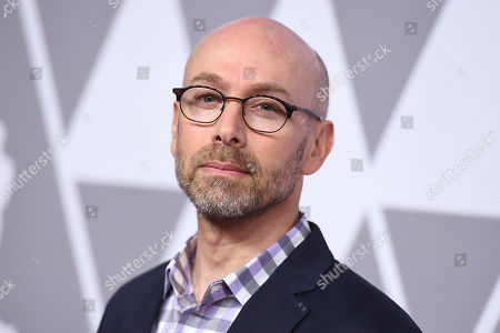 Stock Image of Stephen Rosenbaum arrives at the 90th Academy Awards Nominees Luncheon at The Beverly Hilton hotel, in Beverly Hills, Calif