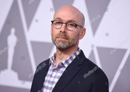 Stephen Rosenbaum arrives at the 90th Academy Awards Nominees Luncheon at The Beverly Hilton hotel, in Beverly Hills, Calif