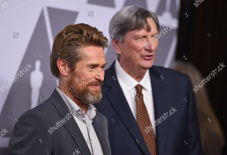 Willem Dafoe, John Bailey. Willem Dafoe, left, and John Bailey arrive at the 90th Academy Awards Nominees Luncheon at The Beverly Hilton hotel, in Beverly Hills, Calif